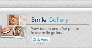 View before and after photos in our smile gallery.